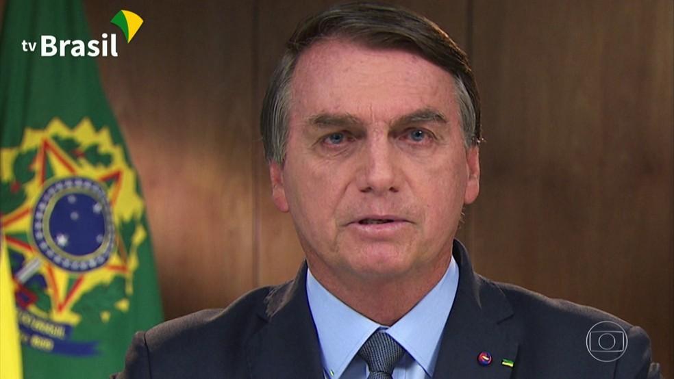 Jair Bolsonaro — Foto: Reprodução