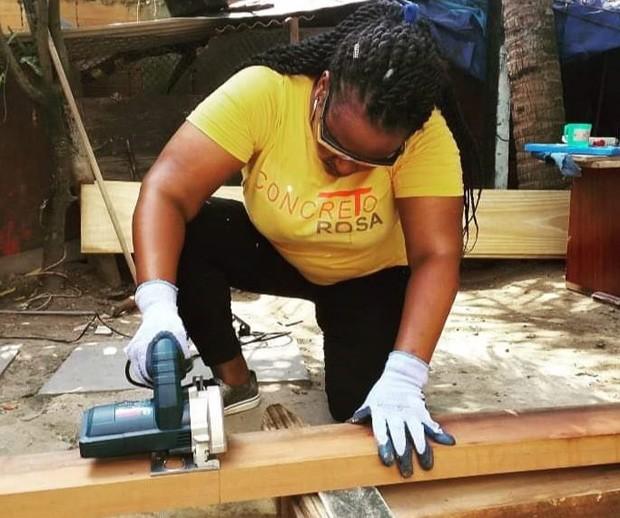 Empresa de construção civil composta só por mulheres é destaque na Bienal de Arquitetura de São Paulo (Foto: Divulgação)