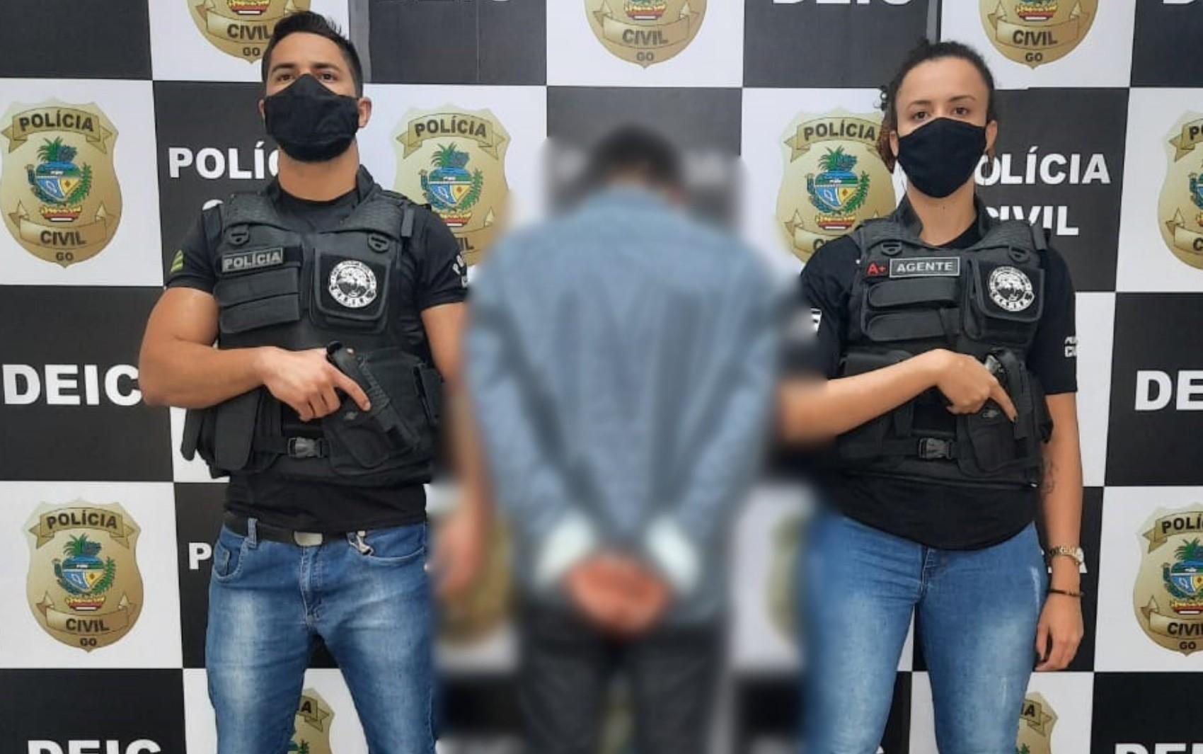 Amigo é preso suspeito de dar 'boa noite, Cinderela' e roubar idoso em Goiânia