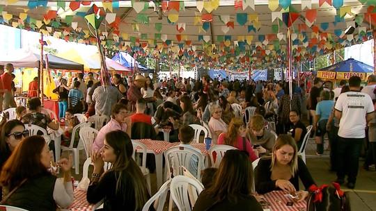 Atividades para toda a família, diversão, quadrilha e show das irmãs Galvão agitam festa junina em Londrina
