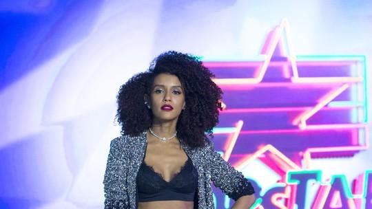Taís Araujo quer voltar ao 'PopStar' mesmo se estiver gravando novelas: 'É domingo! No dia de folga eu venho'