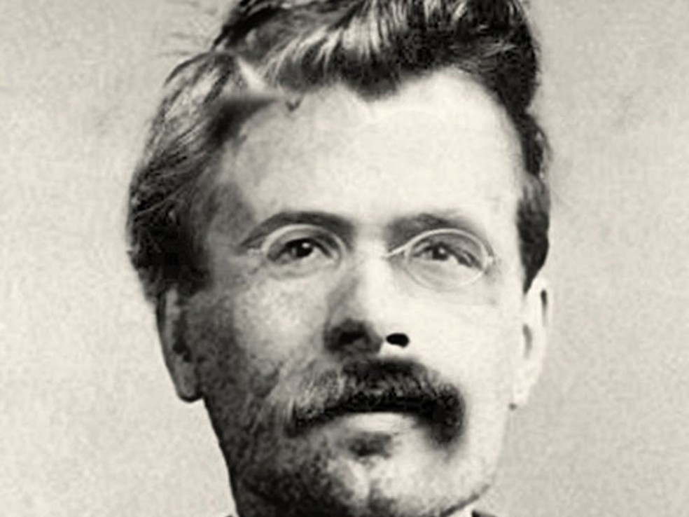 O filósofo alemão Friedrich Nietzsche (Foto: Reprodução)