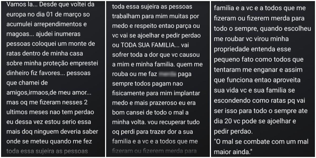 Jovem esfaqueia ex-sogra e criança após ameaçar a ex pelas redes sociais - Notícias - Plantão Diário