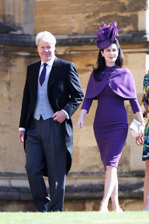 Chapéus diferentões no casamento de Harry e Meghan (Foto: Getty Images )