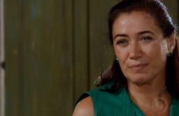 Na quinta (4), Giselda descobrirá que Tereza Cristina sabe de seu romance com Renê (Foto: Reprodução)
