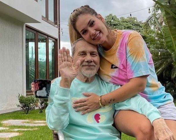 Virgínia Fonseca e o pai, Mário (Foto: Reprodução/Instagram)