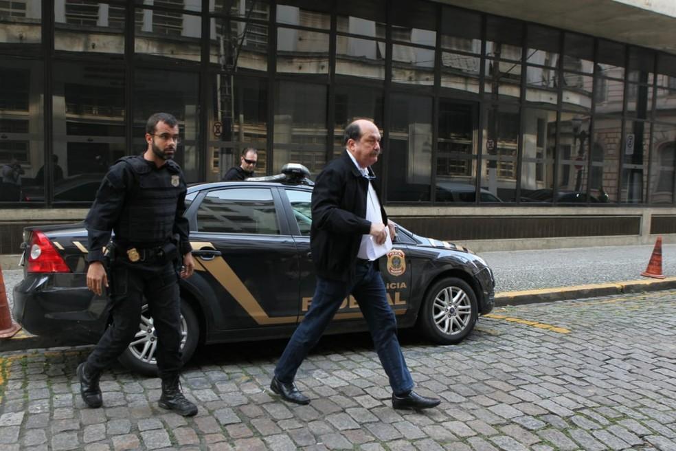 Cleveland Lofrano, diretor da Codesp, foi alvo da fase um da Operação Tritão da Polícia Federal  — Foto: Carlos Nogueira/Jornal A Tribuna de Santos
