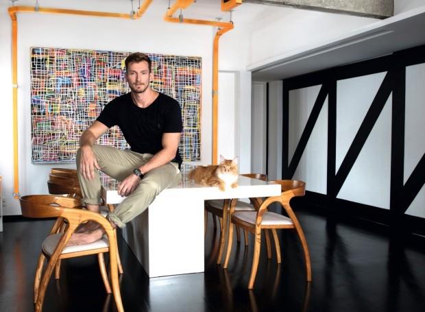 Apartamento do arquiteto Fabio Mingoti - Leve recomeço (Foto: Denílson Machado / MCA Estúdio)