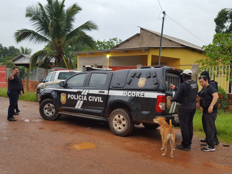 A investigação também tinha o objetivo de identificar membros de facção — Foto: Divulgação/Polícia Civil