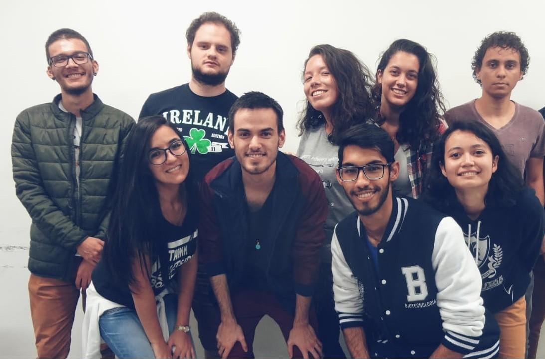 Alunos brasileiros desenvolvem projeto de nutrição para pessoas em Marte (Foto: Arquivo pessoal)