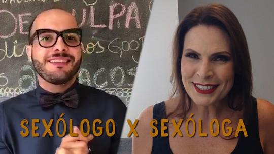 Laura Muller troca figurinhas com Mahmoud sobre sexualidade e confinamento