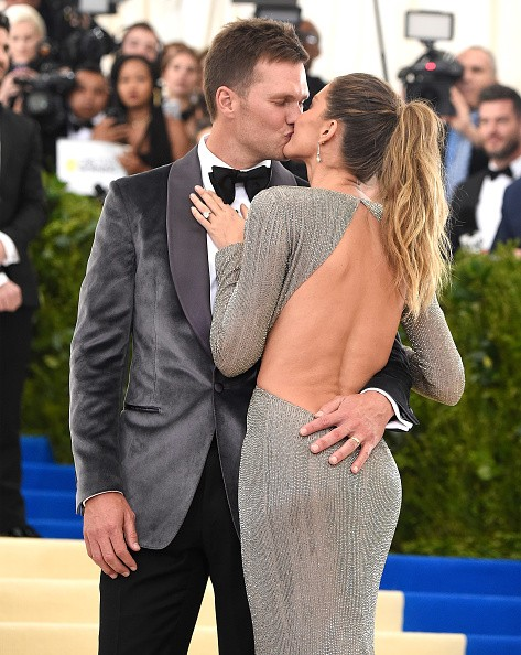 Tom Brady e Gisele (Foto: Getty Images)