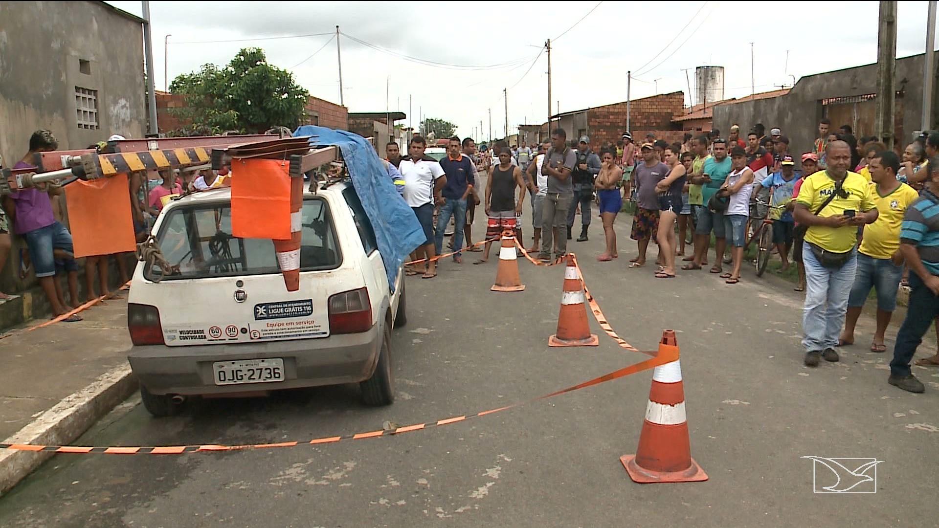 Prestadores de serviços da Cemar são executados no Maranhão