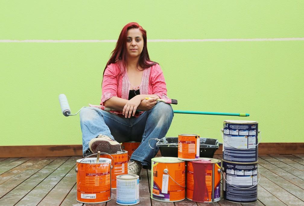 Nattasha explica que a função de 'marida de aluguel' nada mais é do que fazer o que as mulheres não tem tempo e paciência de fazer (Foto: Giuliano Gomes/PR Press )