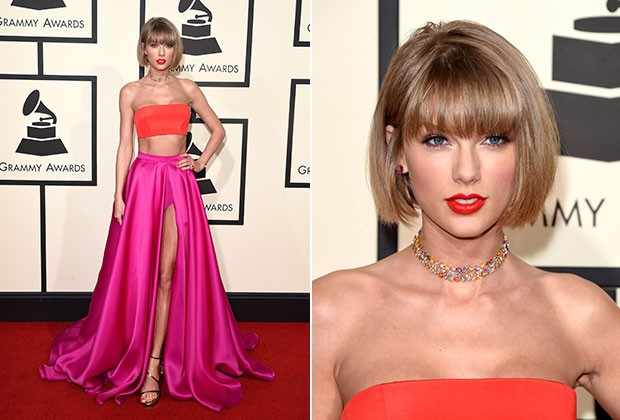 Taylor Swift no Grammy 2016 (Foto: Getty Images)