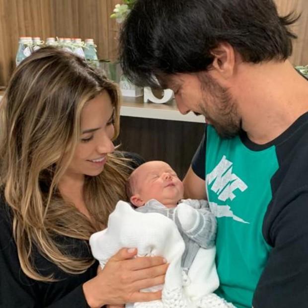 Patricia Abravanel dá à luz Senor (Foto: Reprodução/Instagram)