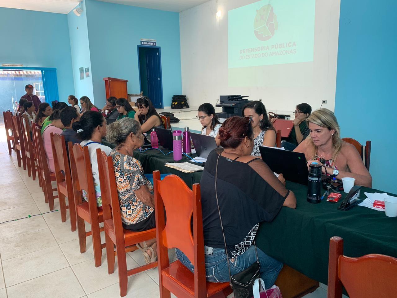 Com foco nas áreas da Família e Mulher, Tabatinga recebe mutirão de atendimento da Defensoria Pública - Notícias - Plantão Diário