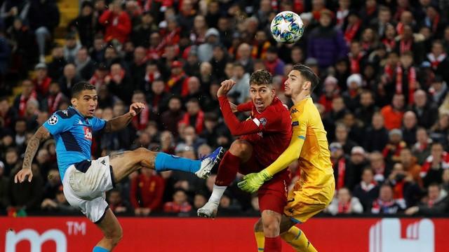 Liverpool x Napoli, Liga dos Campeões