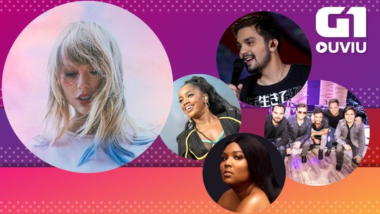 Luan e Melim fazem 'crônicas do gelo' e Taylor Swift faz 'disco retrospectiva': G1 Ouviu