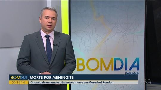 Criança morre vítima de meningite em Marechal Cândido Rondon