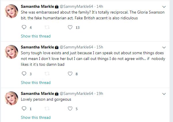 Samantha Markle (Foto: Twitter)