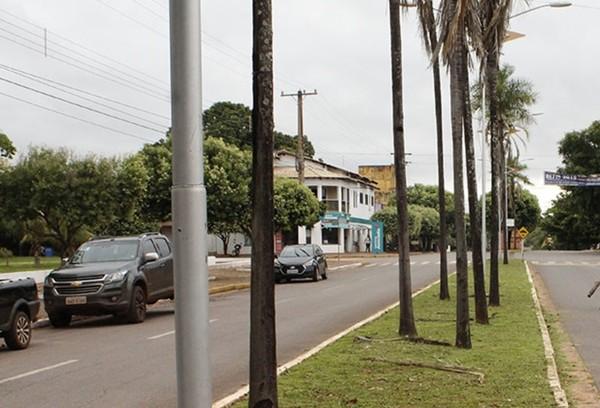 Após casos de coronavírus confirmados, prefeitura de Guia Lopes da Laguna decretou a restrição quase que total de pessoas no município — Foto: Prefeitura de Guia Lopes da Laguna/Divulgação