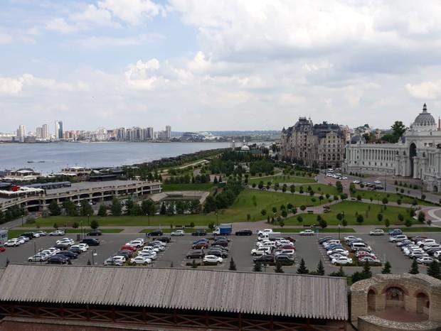 Uma volta por Kazan (Foto: Pedro Carvalho)