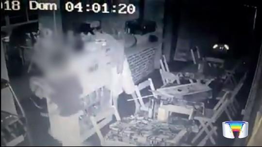Após postagem na web, comerciante recupera TV furtada de lanchonete em Canas
