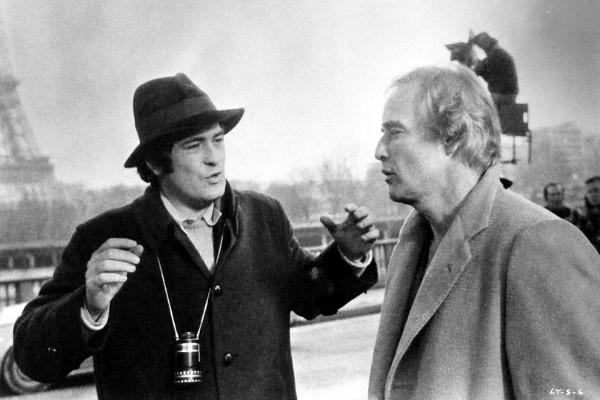 Bernardo Bertolucci e Marlon Brando (Foto: Reprodução)
