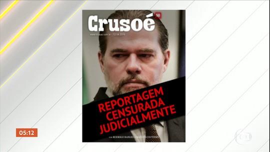 Ministro Dias Toffoli fala sobre a liberdade de expressão