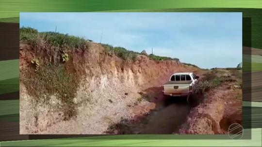 Recenseadores têm dificuldades para realizar o Censo Agropecuário em MT por falta de infraestrutura das estradas