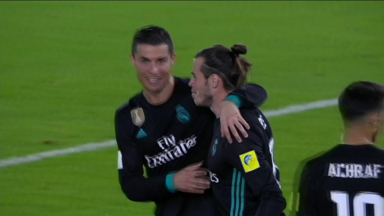 Gol do Real Madrid! Gareth Bale recebe após troca de apsses e vira marcador aos 40 do 2º