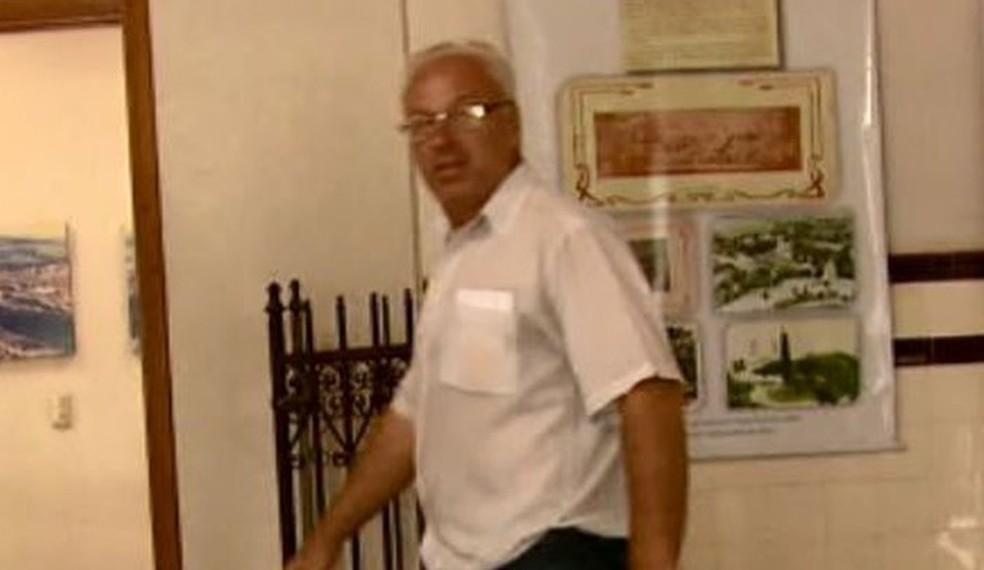 O prefeito de Ribeirão Bonito (SP), Francisco José Campaner (PSDB) — Foto: Arquivo EPTV