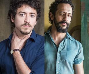 Jesuíta Barbosa e Irandhir Santos | Renato Rocha Miranda e Estevam Avellar/TV Globo