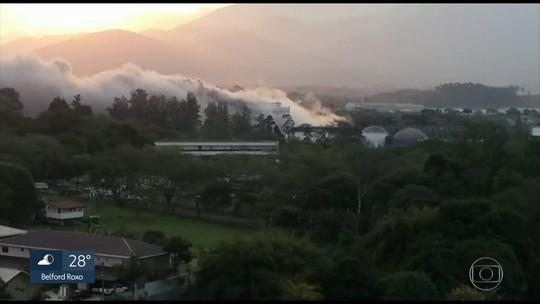 Explosão em fábrica causa preocupação em Resende
