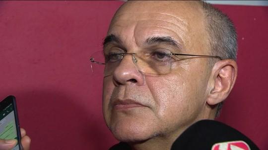 Eduardo Bandeira de Mello diz que arbitragem só erra contra o Flamengo