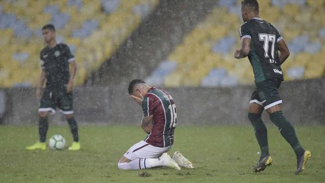 Luciano, Fluminense x Goias