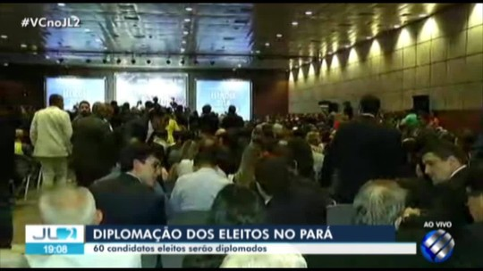 TRE-PA realiza a diplomação dos candidatos eleitos em 2018 no Pará