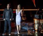 André Marques e Fernanda Lima no palco do 'Superstar' | Globo/João Cotta