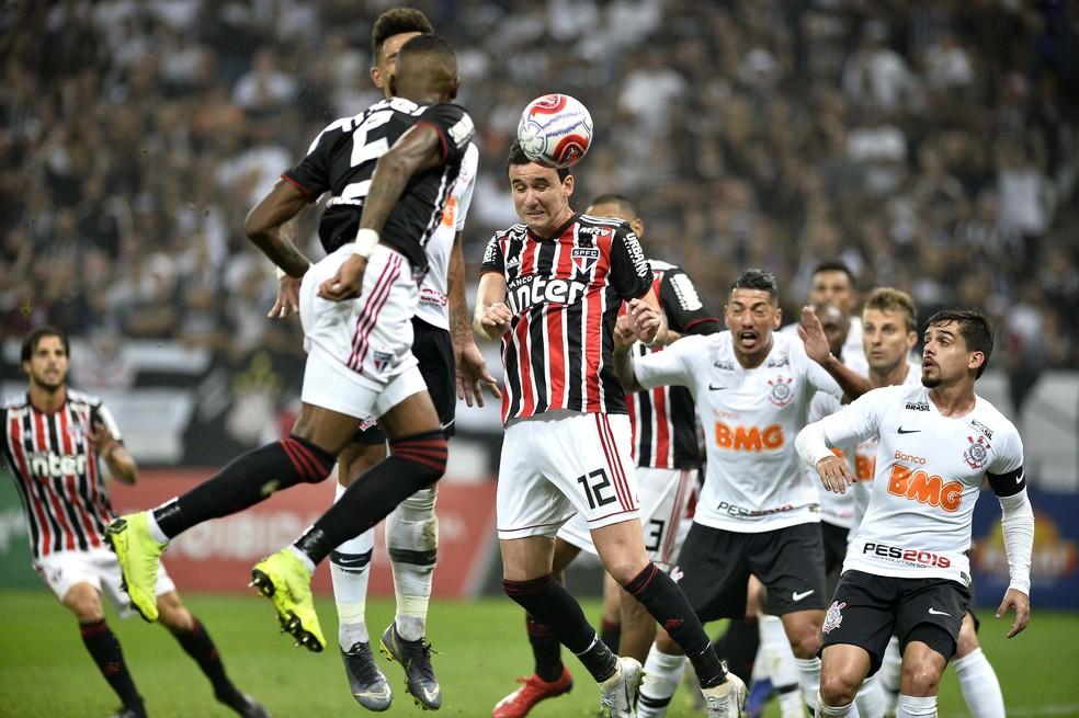 Pablo é o artilheiro do São Paulo no Paulista, com quatro gols — Foto: Marcos Riboli