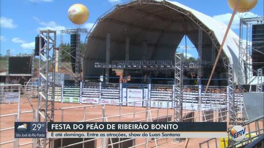 Festa do Peão de Ribeirão Bonito tem shows de Felipe Araújo e Luan Santana