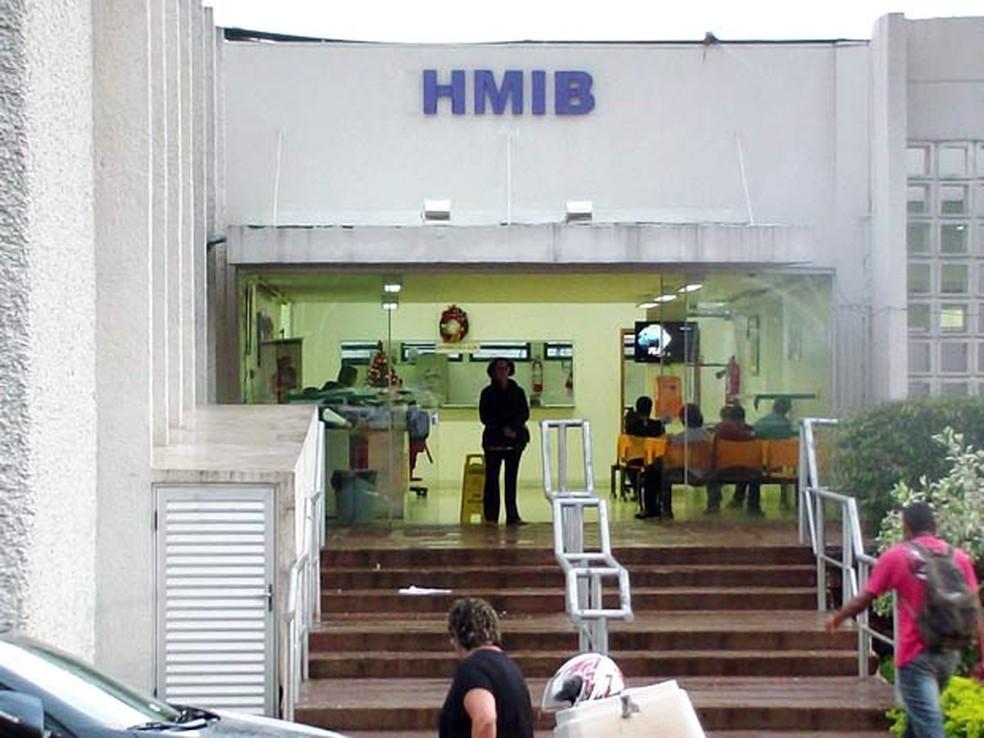 Hospital Materno Infantil de Brasília, localizado na avenida L2 Sul, quadra 608 — Foto: Ricardo Moreira / G1