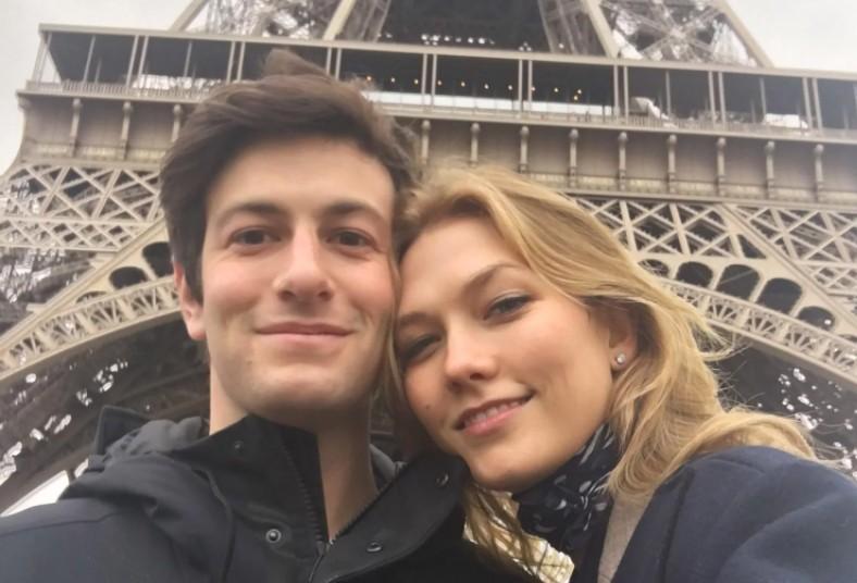 Joshua Kushner e Karlie Kloss (Foto: Reprodução / Instagram)