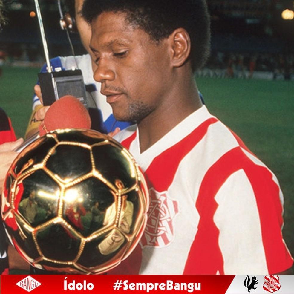 Marinho, ex-jogador do Bangu — Foto: Divulgação/Bangu