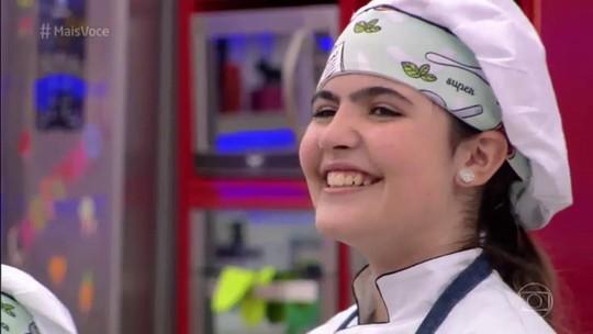 Raphaela está na final do 'Super Chefinhos 2019' ao lado de Clara e Raylla, após repescagem