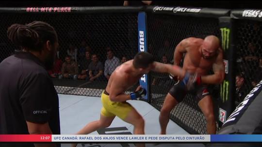 Rafael dos Anjos vence terceira nos meio-médios e pede chance pelo cinturão do UFC