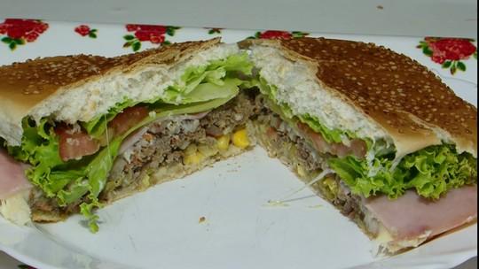 Saiba como preparar hambúrguer de pinhão