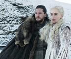 Kit Harington e Emilia Clarke em 'Game of thrones'   HBO