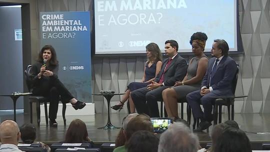 Em painel que discute tragédia de Mariana, atingidos dizem que anseiam em recuperar o controle das próprias vidas