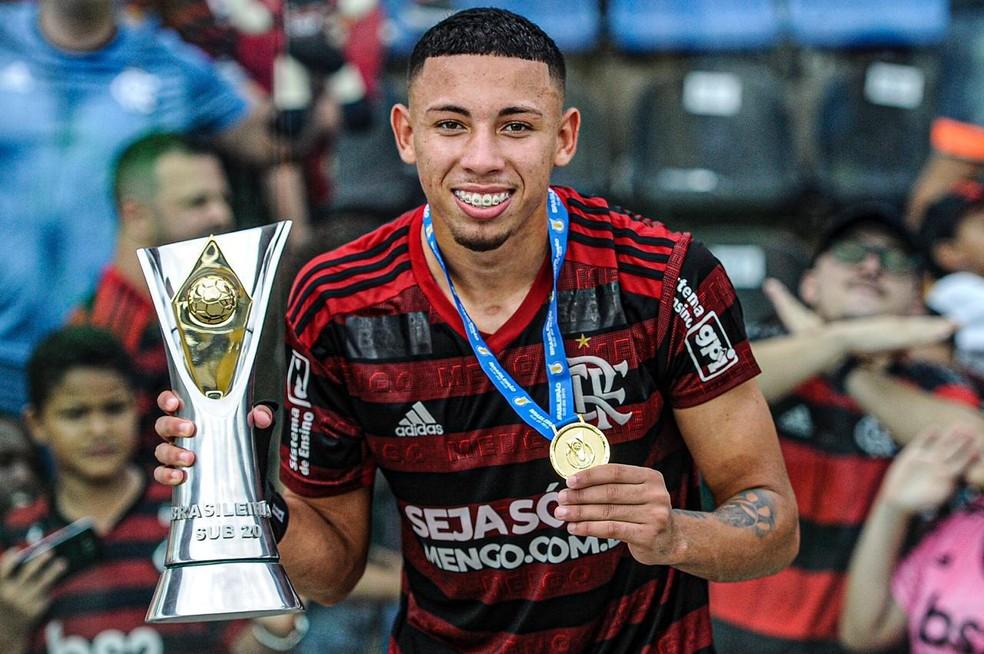 Guilherme Bala Flamengo Sub-20 — Foto: Flamengo / Divulgação